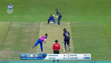 T20WCQ: SCO v BER – Run-fest as Scotland beat Bermuda – Highlights