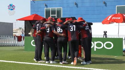 T20WCQ: HK v CAN – Hong Kong pick up second win – Highlights