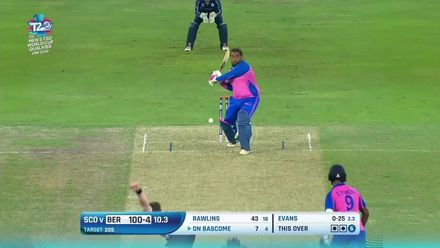 T20WCQ: SCO v BER – How Bermuda lost their wickets