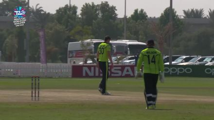 T20WCQ: IRE v JSY – Rankin takes sensational caught and bowled