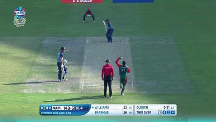 T20WCQ: KEN v NAM – Namibia march to third win