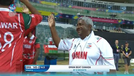 T20WCQ: OMA v CAN – The winning moment