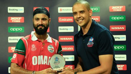 Player of the Match - Jatinder Singh