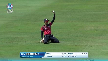 T20WCQ: PNG v SIN – PNG make it four wins from five