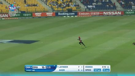 T20WCQ: OMA v CAN – All the boundaries from Oman's innings