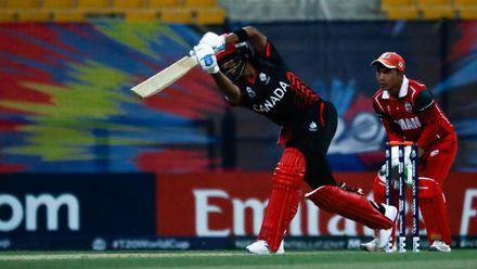 Nitish Kumar bat against Oman