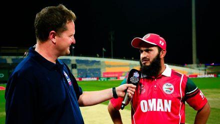 Oman Captain speaks to Rob Key