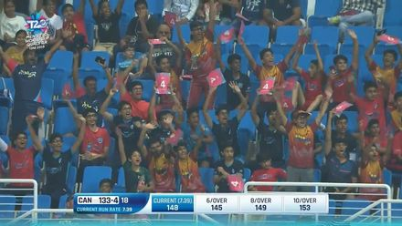 T20WCQ: OMA v CAN – Abu Dhabi crowd enjoys the action