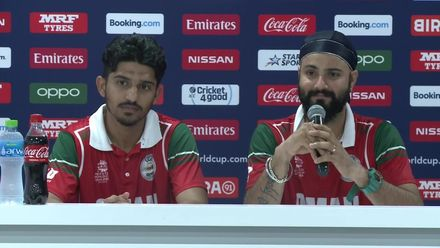 T20WCQ: OMA v CAN – Post match media conference