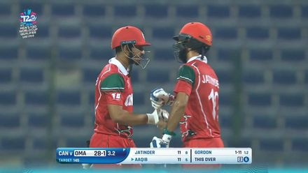 T20WCQ: OMA v CAN – Ilyas dazzles with 60 off 39