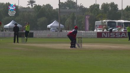 T20WCQ: IRE v JSY – Jersey lose two early wickets