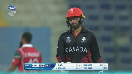 T20WCQ : OMA v CAN – Maqsood leads the way with three wickets