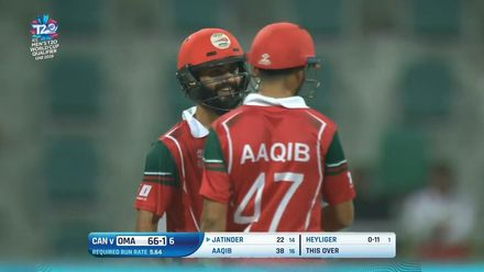 T20WCQ: OMA v CAN – Oman claim big win to lead Group B