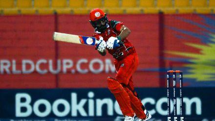 Jatinder Singh bats against Canada