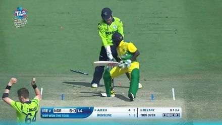 T20WCQ: IRE v NGR – Highlights of Ireland's resounding win