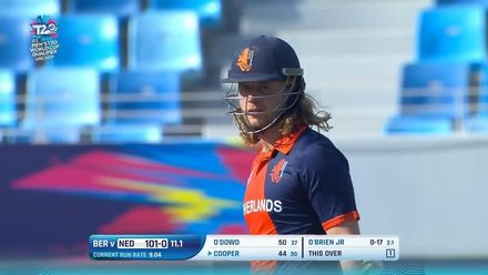 T20WCQ: NED v BER – Max O'Dowd's attacking 59 off 42