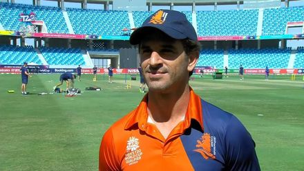 T20WCQ: NED v BER – 'It's nice being back' – Ryan ten Doeschate