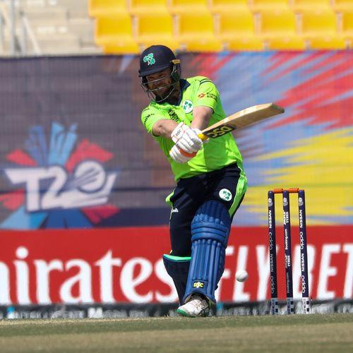 Paul Stirling bat against Nigeria