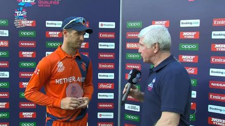T20WCQ: NED v BER – Colin Ackermann, Player of the Match