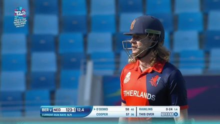 T20WCQ: NED v NER – Max O'Dowd falls to sharp catch by George O'Brien