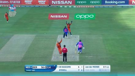 T20WCQ: NED v BER – How the Bermuda wickets fell