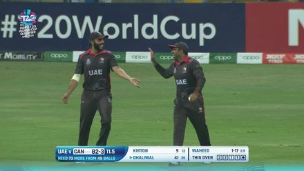 T20WCQ: UAE v CAN – Waheed leads UAE's bowling charge with 3/21