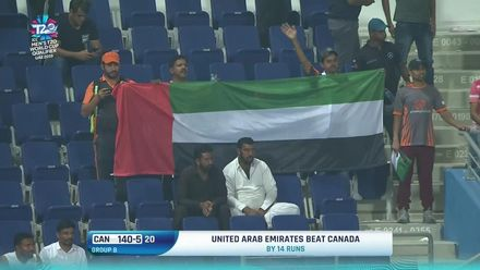 T20WCQ: UAE v CAN – Host nation's winning moment