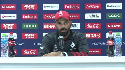 T20WCQ: UAE v CAN – Navneet Dhaliwal reacts to his loss to UAE