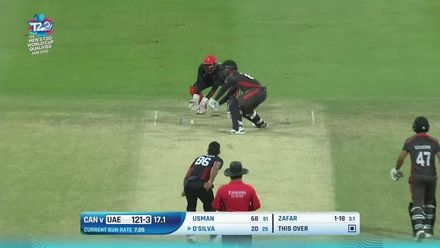 T20WCQ: UAE v CAN – The five UAE wickets to fall