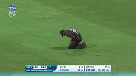 T20WCQ: UAE v CAN – Canada lose regular wickets in chase