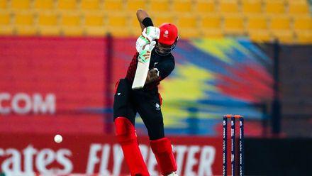 Nicholas Kirton bats against UAE