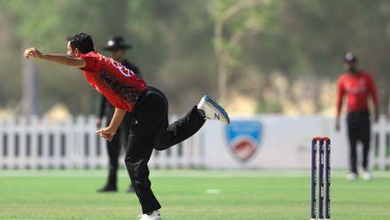 Ehsan Khan bowl against Nigeria