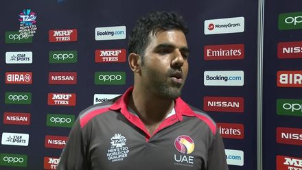 T20WCQ: UAE v CAN – Mohammad Usman, Player of the Match