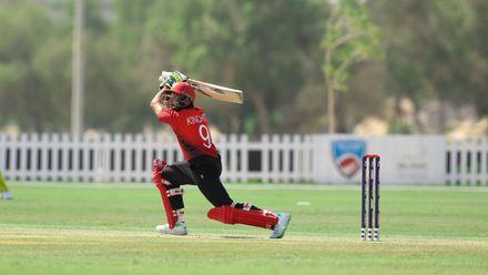 Kinchit Shah bat against Nigeria