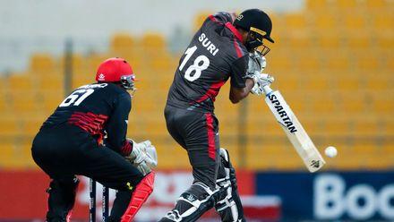 Chirag Suri bats against Canada