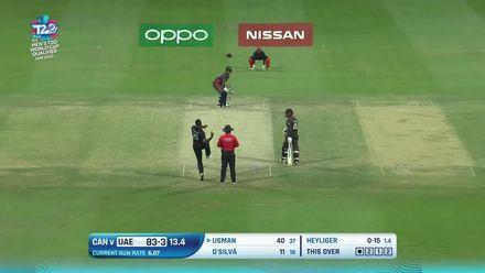T20WCQ: UAE v CAN –Usman carries UAE to 154/5