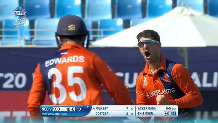T20WCQ: SCO v NED – Netherlands finish group stage with win