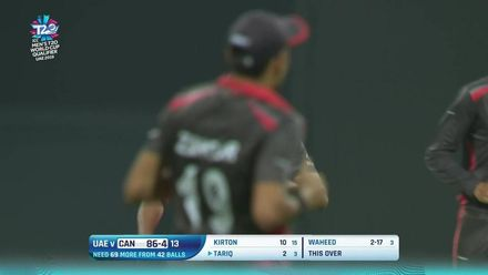 T20WCQ: UAE v CAN – UAE keep Canada's batsmen under check