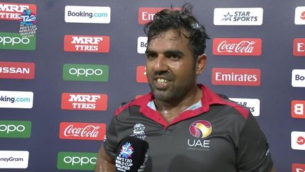 T20WCQ: UAE v CAN – Interview with Mohammad Usman