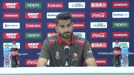 T20WCQ: UAE v CAN – Ahmed Raza on his side's win against Canada