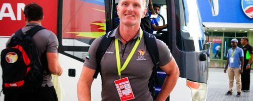 UAE Head Coach Dougie Brown