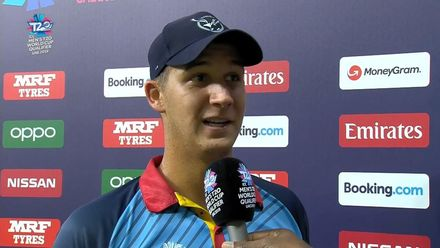 T20WCQ: NAM v OMA – JJ Smit, Player of the Match