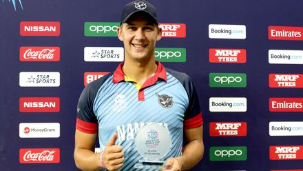 Player of the match-JJ Smit