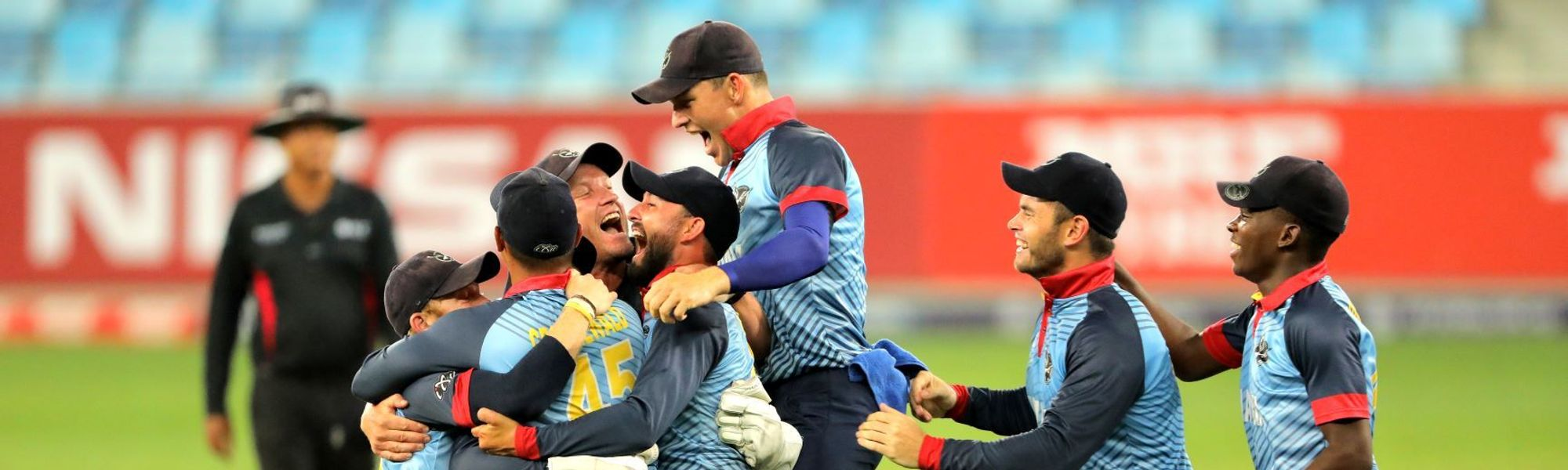 2-Namibia go to the semi's and qualify for the ICC T20 world cup in Australia