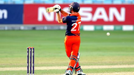 Ryan ten Doeschate batting