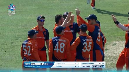 T20WCQ: NED v UAE – Netherlands seal T20WC qualification