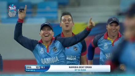 T20WCQ: NAM v OMA – Namibia ecstatic at making it through