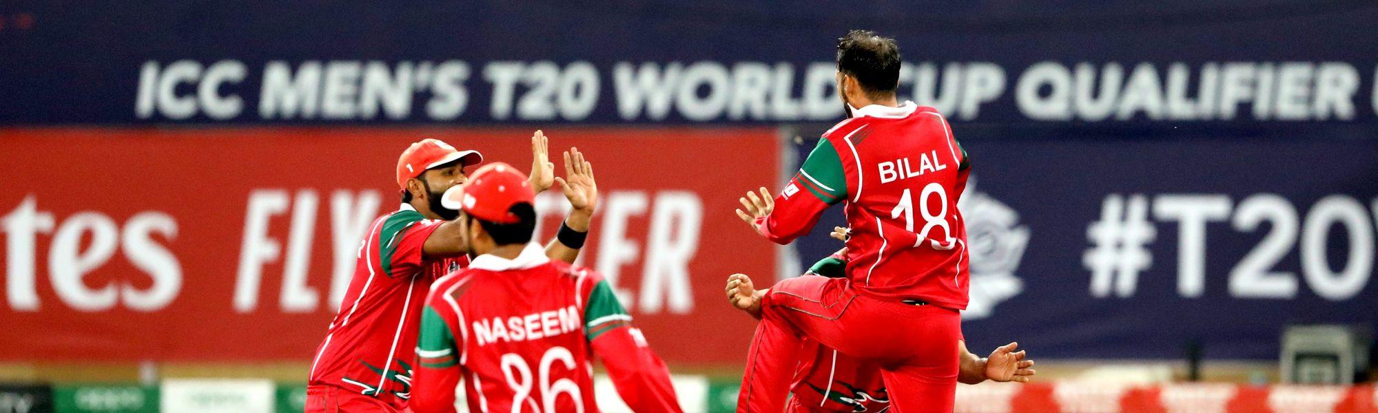 Bilal Khan celebrate wicket of Waqas Barkat-min
