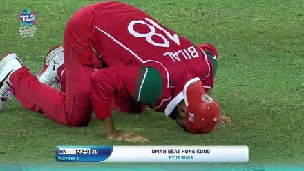 T20WCQ: HK v OMA – Oman book ticket to Australia