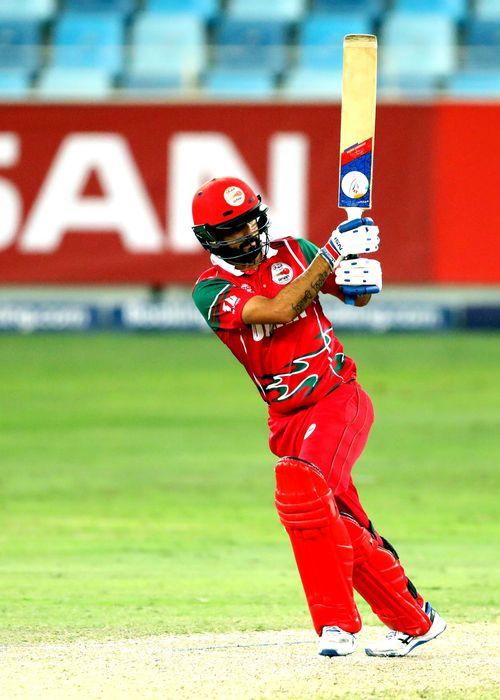 Jatinder Singh batting